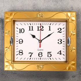 Часы настенные, серия: Классика, 'Кассандра', 21.5х18 см, микс Ош