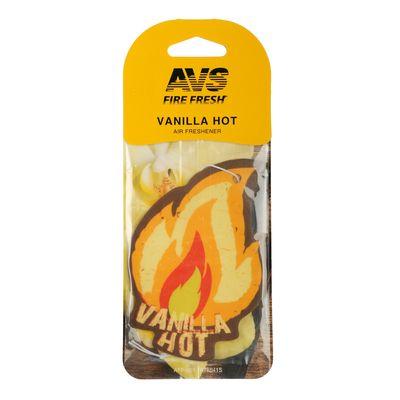 Ароматизатор AVS AFP-001 Fire Fresh, ваниль, бумажные