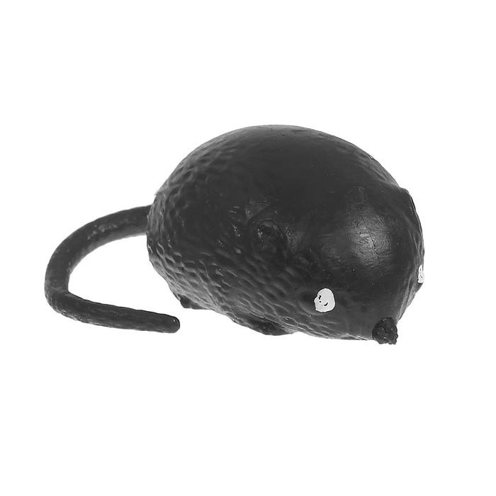 Мялка Мышь, с водой, цвет чёрный