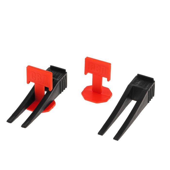 купить Комплект Зажим  Клин для выравнивания плитки LOM, в упаковке 4040 шт