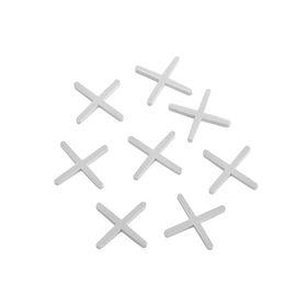 Крестики для кладки плитки LOM, 2.0 мм, в упаковке 100 шт Ош