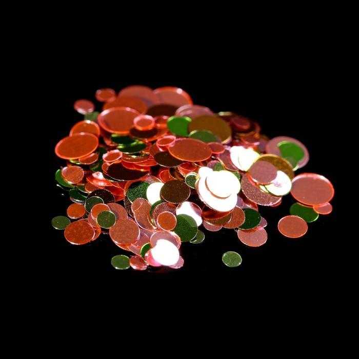 Камифубуки для декора, цвет красныйзелёный