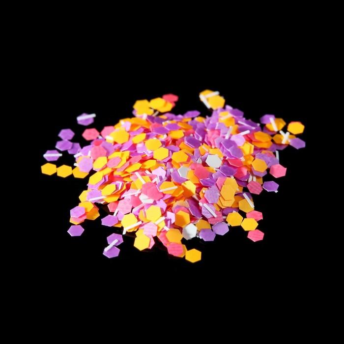 Камифубукикрошка для декора, цвет оранжевыйрозовый