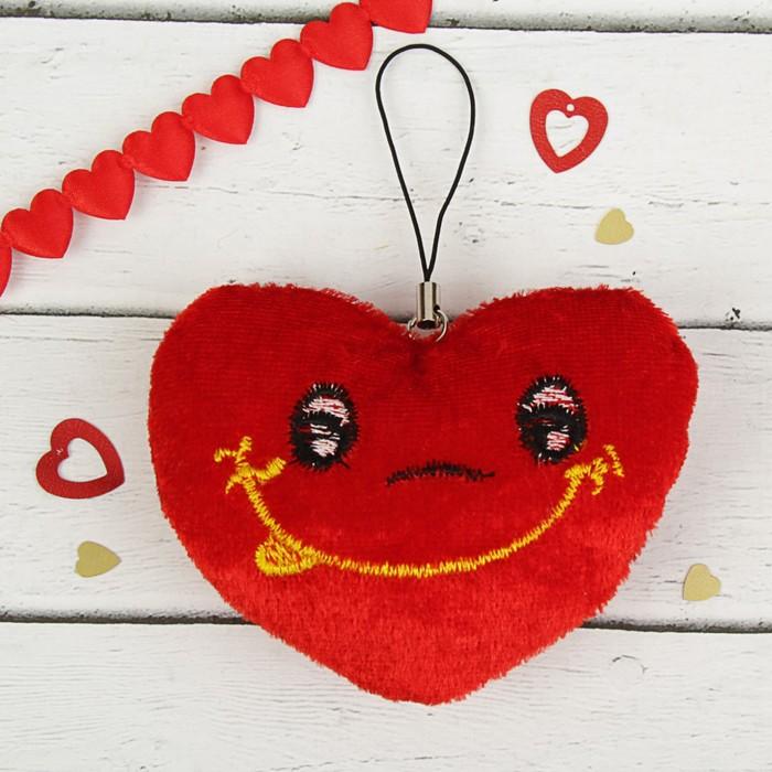 Игрушка-подвеска Сердце с улыбкой, набор 12 шт.