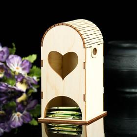 """Чайный домик с мягкой крышей """"Сердце"""""""
