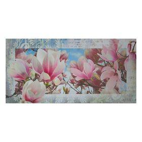 """Картина на холсте """"Нежные цветы"""" 50х100 см"""