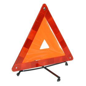 Знак аварийной остановки, с мягкой флюоресцирующей полосой, в чехле Ош