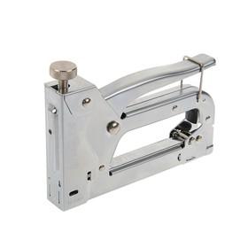 Степлер мебельный Miles, 4-14 мм, тип скоб 53, металлический корпус