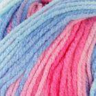 """Пряжа """"Burcum bebe batik"""" 100% акрил 210м/100гр (2162 бир-роз-голуб)"""