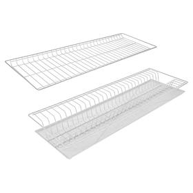 Комплект посудосушителей с поддоном для шкафа 80 см, 76,5×25,6 см, цвет белый Ош