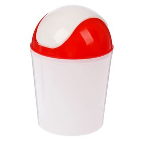 Контейнер для мусора 1,5 л, цвет МИКС