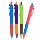 Ручка шариковая, автоматическая, 0.7 мм, Vinson «Смарт», стержень масляный синий, МИКС