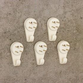 Крепление для картины ЗАО Пластик, большое, цвет белый