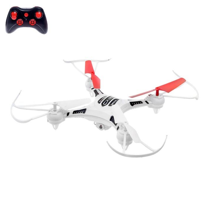 Квадрокоптер VRRodeo CX-29W, камера 0,3 Mpx, передача изображения на смартфон, Wi-Fi, очки VR