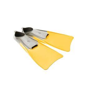 Ласты POOL COLOUR LONG, размер 30-33, цвет жёлтый Ош