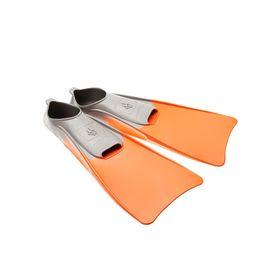 Ласты POOL COLOUR LONG, размер 36-37, цвет оранжевый Ош