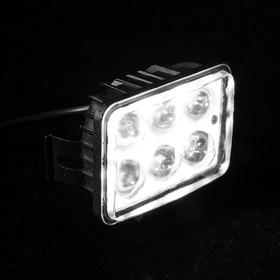 Светодиодная фара TORSO, 6 LED, стекло прозрачное Ош