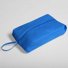 Сумка для обуви, отдел на молнии, цвет синий Ош