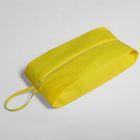 Сумка для обуви, отдел на молнии, цвет жёлтый