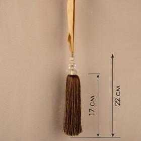 Кисть для штор «Камила», 60 ± 1 см, цвет золотой Ош