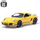 Машина радиоуправляемая Porsche Cayman R, масштаб 1:10, работает от аккумулятора, свет