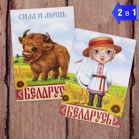 Магнит двусторонний «Беларусь» Ош