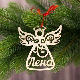 Подвеска на елку ангел 'Лена' Ош