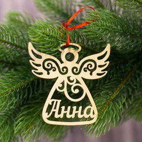 Подвеска на елку ангел 'Анна' Ош