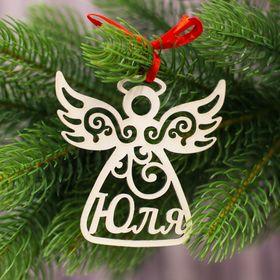 Подвеска на елку ангел 'Юля' Ош