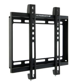 """Кронштейн Ultramounts UM811F, для ТВ, фиксированный, 17-43"""", 19.5 мм от стены, черный"""
