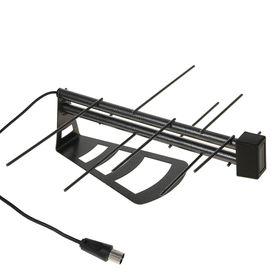 Антенна 'РЭМО' BAS-5114-P Меркурий 2.0, комнатная, пассивная, 6 дБи, DVB-T, DVB-T2,цифровая Ош