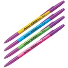 Ручка шариковая W-219 Color, узел 0.7 мм, чернила синие, микс