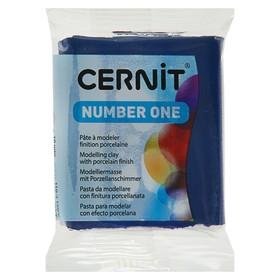 Полимерная глина запекаемая, Cernit Number One, 56 г, тёмно-синяя, № 246
