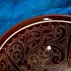 Коса малая Риштанская Керамика 15см/0,5л коричневая - Фото 4