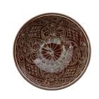 Коса малая Риштанская Керамика 15см/0,5л коричневая - Фото 6