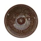Коса малая Риштанская Керамика 15см/0,5л коричневая - Фото 8