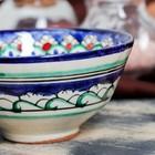 Пиала большая Риштанская Керамика, 11.5см, микс - Фото 4