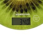 Весы кухонные HOMESTAR HS-3007, электронные, до 7 кг, зелёные - Фото 3
