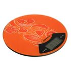 Весы кухонные HOMESTAR HS-3007, электронные, до 7 кг, оранжевые