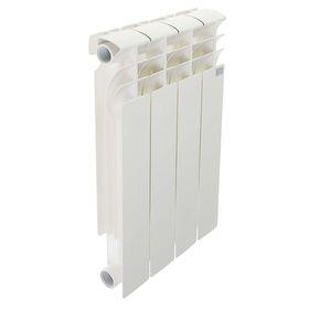Радиатор биметаллический STI, 500х80 мм, 4 секции