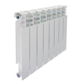Радиатор биметаллический STI, 500 х 80 мм, 8 секций