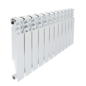 Радиатор биметаллический STI, 500 х 80 мм, 12 секций
