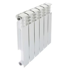 Радиатор алюминиевый STI, 500 х 80 мм, 6 секций