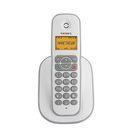 Телефон Texet TX-D4505A DECT, комплект из базы и трубки, полифония, белый/серый