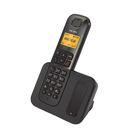 Телефон Texet TX-D6605A DECT, комплект из базы и трубки, полифония,  черный