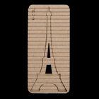 """Чипборд картон """"Эйфелева башня"""" 3,5х8 см"""