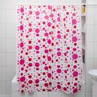 Штора для ванной комнаты «Радуга цвета», 180×180 см, полиэтилен, цвет МИКС