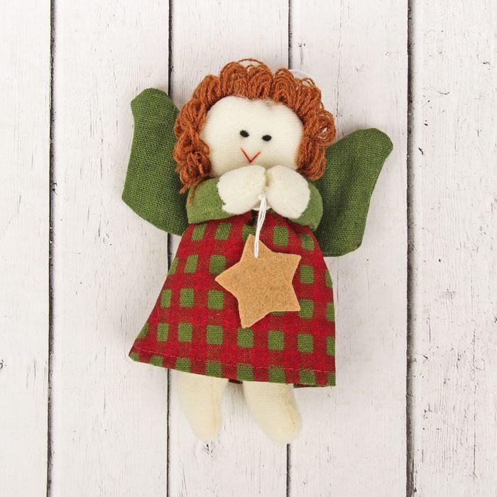 Кукла интерьерная «Ангел», фея, звезда в ручках, цвета МИКС