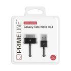 Кабель Prime Line (7204) Samsung Galaxy Tab, черный,  1,2 м - Фото 2