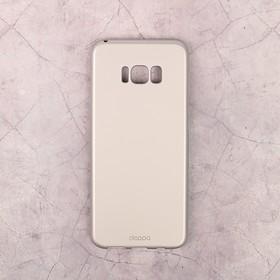 Чехол-крышка Deppa Air Case Samsung Galaxy S8 Plus, серебряный